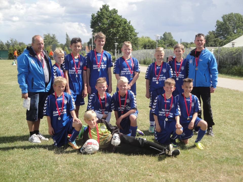 Vores U13 hold har netop vundet sølv ved Sjællandsmesterskaberne
